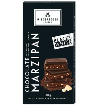 Niederegger Black & White Chocolate Marzipan Bar