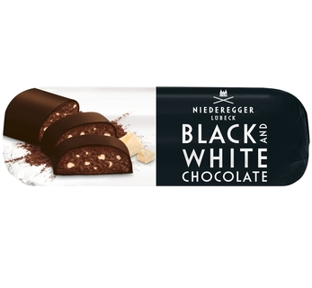 Niederegger Black & White Chocolate Marzipan Loaf