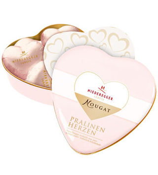 Niederegger Nougat Chocolate Hearts Tin