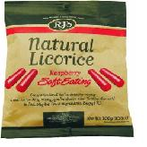 Natural Raspberry Soft Licorice