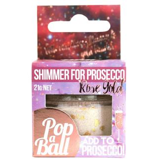 Popaball Rose Gold Drink Shimmer