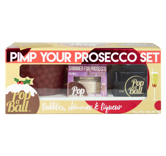 Pop a Ball Pimp Your Prosecco Gift Set