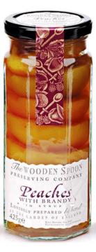 The Wooden Spoon Company Peaches With Brandy