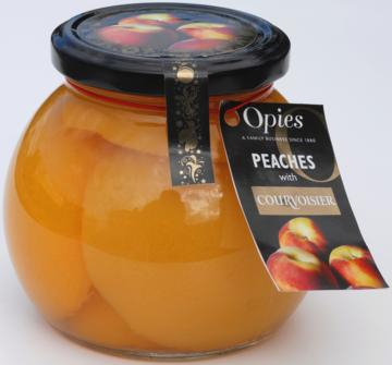 Opies Peaches with Courvoisier