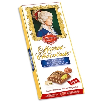 Reber Constanze Mozart Milk Chocolate Bar