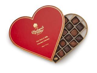 Charbonnel et Walker Milk & Dark Chocolate Heart