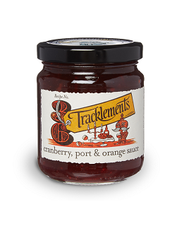 Tracklements Cranberry Port & Orange Sauce
