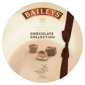 Baileys Irish Cream Liqueur Chocolate Collection Luxury Gift Box