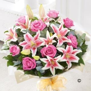 Incredible Rose and Lily Bouquet