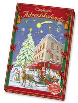 Reber Advent Calendar filled with the finest Reber confectionery specialties