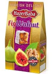 Hazer Baba Fig and Walnut Turkish Delight