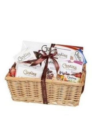 Guylian Large Hamper Basket