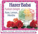 Hazer Baba Rose, Lemon and Menthe Turkish Delight