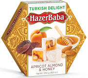 Hazer Baba Apricot, Almond and Honey Turkish Delight