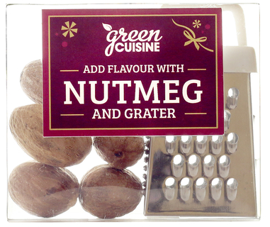 Nutmegs with Grater