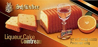 Schlunder Orange Liqueur Cake