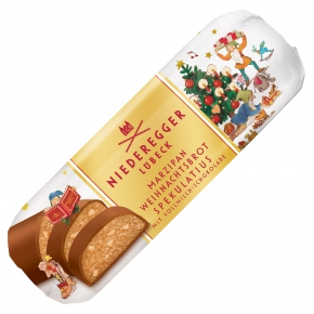 Niederegger 'Speculoos' Marzipan Christmas Loaf
