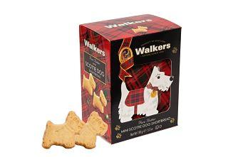Walkers 3-D Mini Scottie Dog Carton
