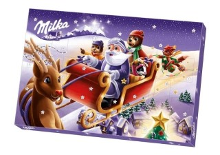 Milka Chocolate Advent Calendar