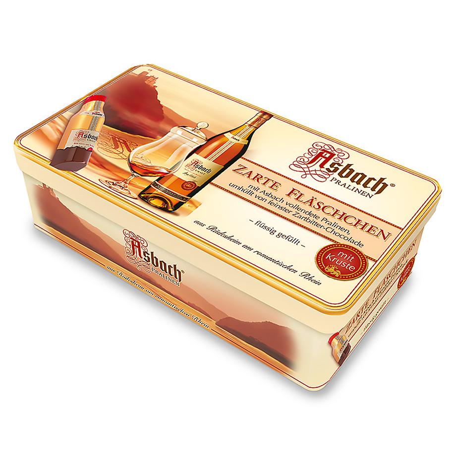 Asbach Praline Liqueur Tin