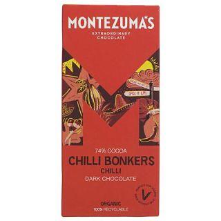 Montezuma's Dark Chocolate Chilli Bonkers Bar