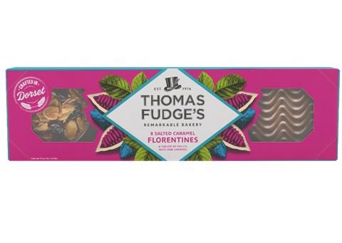 Thomas Fudge's Salted Caramel Florentines