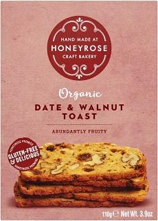 Honeyrose Date and Walnut Toast