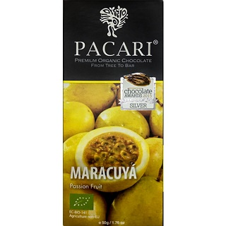 Pacari Organic Chocolate with Passion fruit