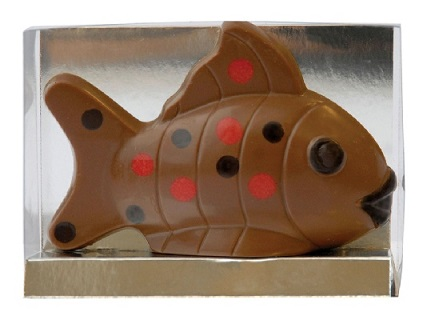 Chocolate Phelps the Fish