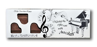 Symphony of Milk Chocolate Pianos