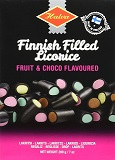 Finnish Filled Licorice Fruit and Choco Flavoured