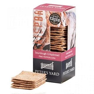 Peter's Yard Sourdough Crispbread with Pink Peppercorn