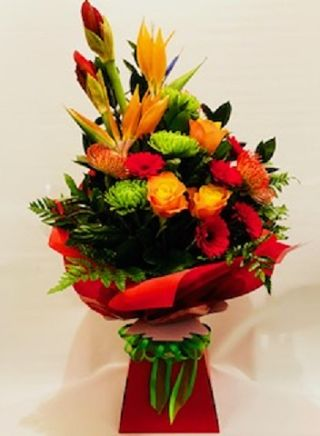 Vibrant Contemporary Arrangement
