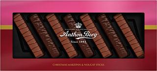 Anthon Berg  Marzipan & Nougat Sticks