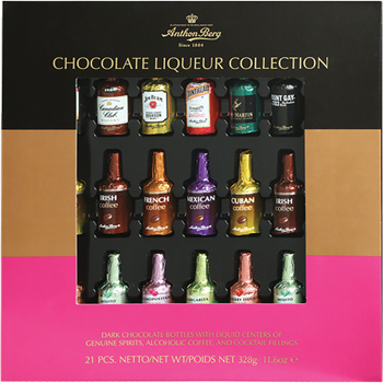 Anthon Berg Chocolate Liqueurs 21 Piece