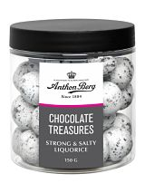Anthon Berg Chocolate Treasures Strong & Salty Liquorice