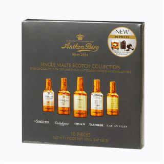 Anthon Berg Single Malts Scotch Collection 10 Piece
