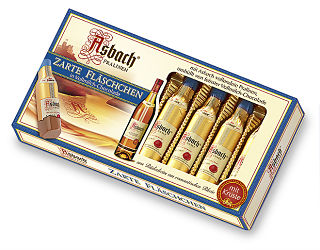 Asbach Finest Liquid  Filled Milk Chocolate With Brandy