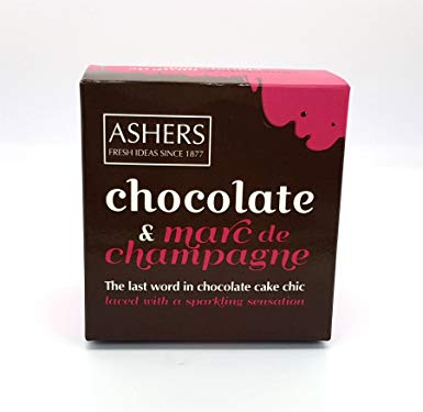 Asher's Chocolate & Marc de Champagne Cake