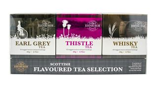 Edinburgh Tea & Coffee Company Scottish Flavoured Tea Triple Pack