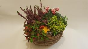 Autumnal Bloom Basket