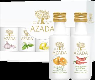 Azada Flavoured Olive Oil Set