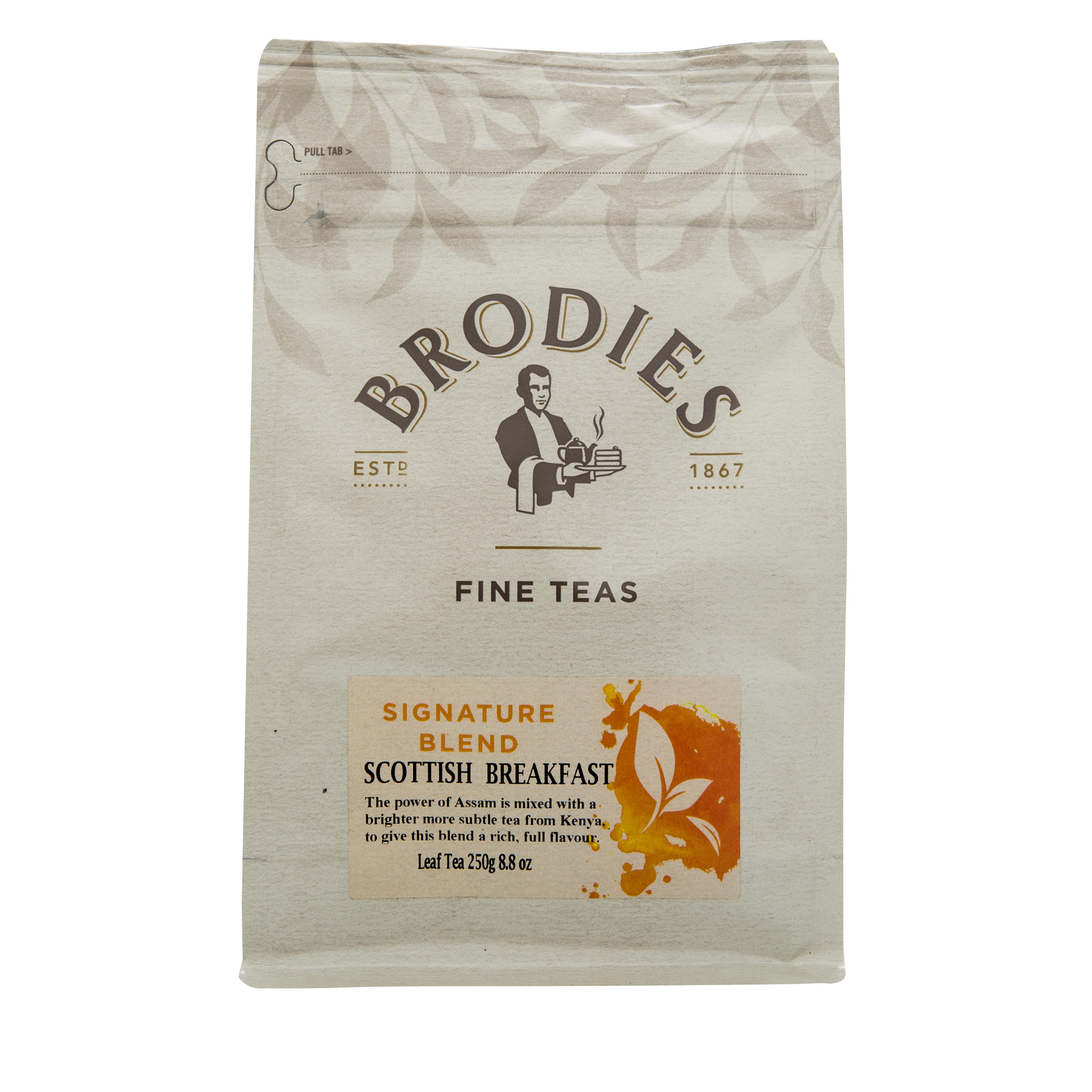 Brodies Scottish Breakfast Leaf Tea Pouch