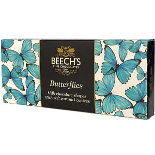 Beech's Milk Chocolate Butterflies