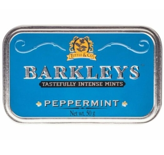 Barkleys Peppermints Tin