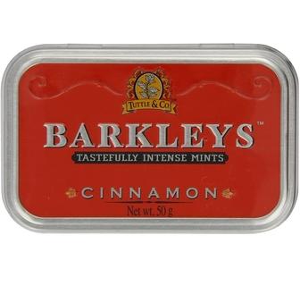 Barkleys Classic Cinnamon Mints In Luxury Tin