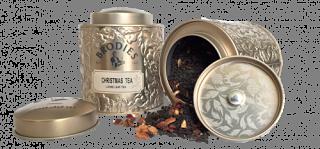 Brodies Christmas Tea Tin