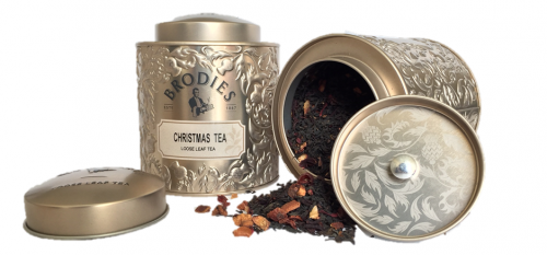Brodies Christmas Tea Tin