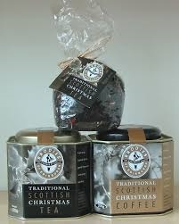 Brodies Traditional Scottish Christmas Coffee Tin