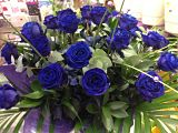 Blue Rose Hand Tied Arrangement